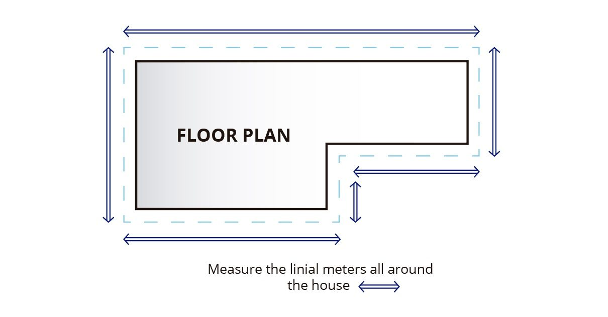 Measuring Plan | GutterFoam